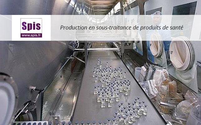 Production en sous-traitance de produits de santé